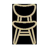 pictogramme représentant une chaise